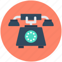 landline, retro phone, telecommunication, telephone, telephone set icon