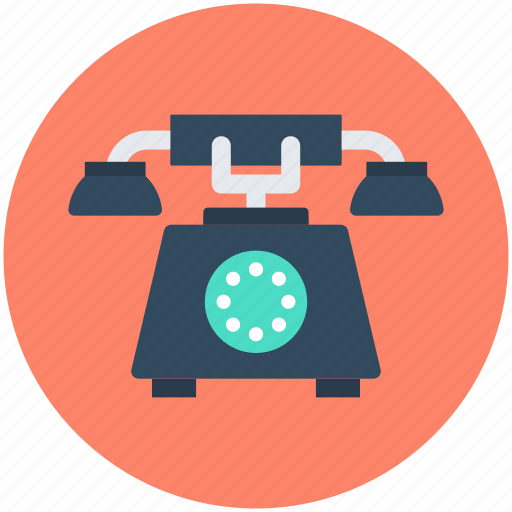 landline, retro phone, telecommunication, telephone, telephone set icon