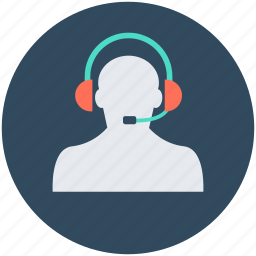 call center, customer service, customer support, helpline, telemarketer icon