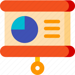 chart, device, display, graph, screen, statistic, statistics icon