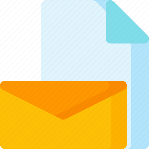 email, envelope, letter, mail, message, stationary icon