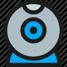 cam, camera, digital, multimedia, record, webcam icon