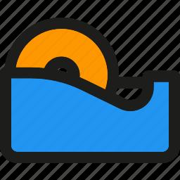 design, equipment, graphic, office, repair, tape, tools icon