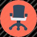 chair, furniture, office chair, revolving chair, swivel chair