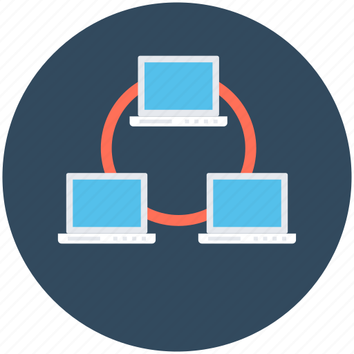 Data exchanging, data sharing, pc share, sharing, wireless sharing icon - Download on Iconfinder
