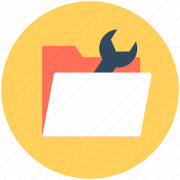 folder options, folder preferences, folder setting, spanner, wrench icon