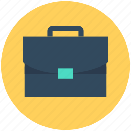 bag, briefcase, business bag, office bag, portfolio icon