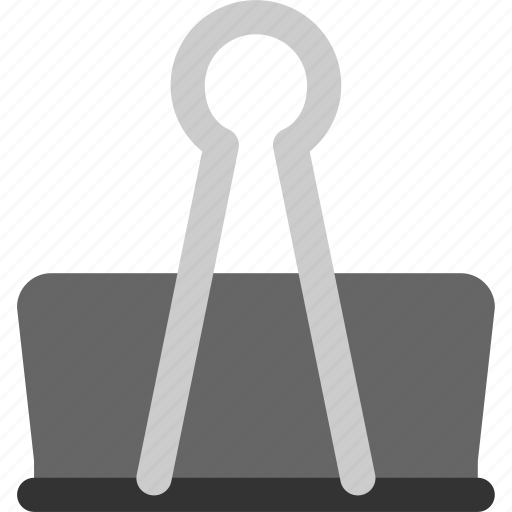 clip, equipment, office, office equipment, paperclip icon