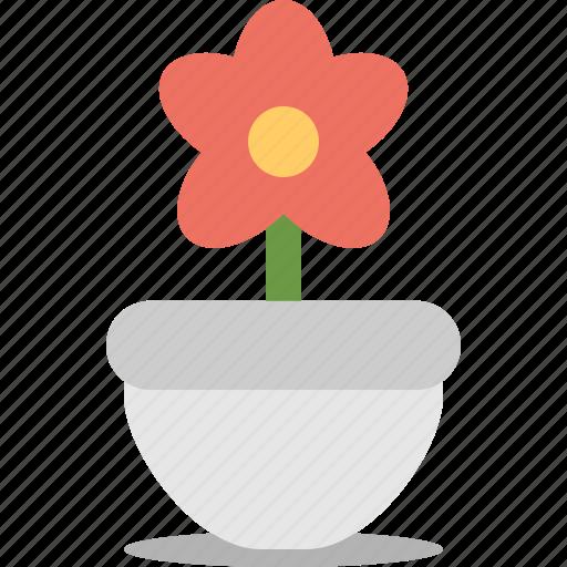 Blossom, floral, flower, garden, pot icon - Download on Iconfinder