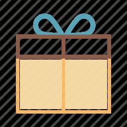 box, giftbox, parcel, present icon