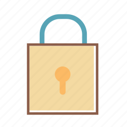 lock, locked, secure, security icon