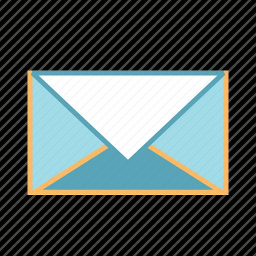 email, envelop, inbox, message icon