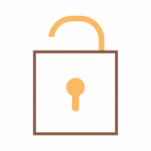 lock, security, unlock, unlocked icon