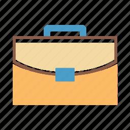 bag, briefcase, case, hand carry icon