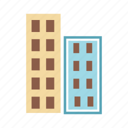 building, corporate, office, office building icon