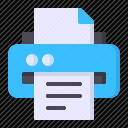 Paper, print, printer, printing icon - Download on Iconfinder