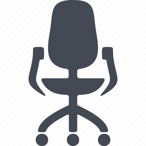 armchair, furniture, office, office chair, piece of furniture icon