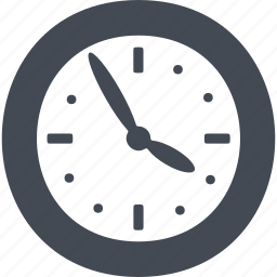 business, clock, office, time, timer icon
