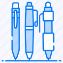 ballpoints, educational tool, markers, stationery item, writing tools