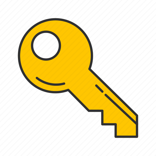 key, safety, security, unlock icon