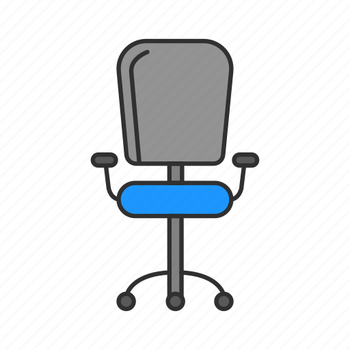 chair, management, office, office chair icon
