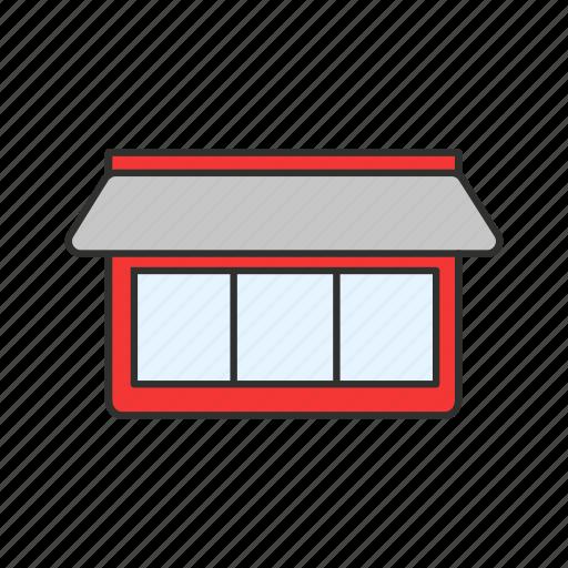 business, retail shop, shop, store icon
