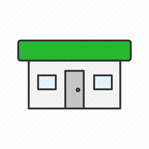 business, retail shop, shop, store icon