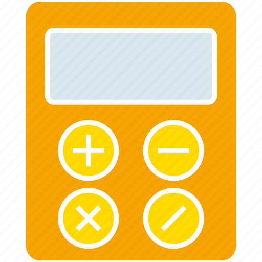 calculator, compute, maths icon