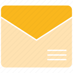 email, letter, office icon