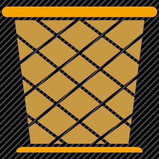 basket, bin, bucket icon
