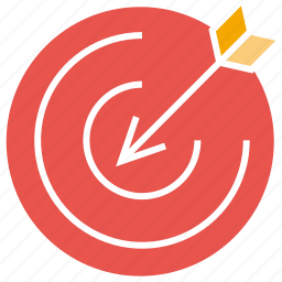 dart, focus, sport, target icon