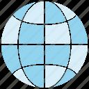globe, world, www
