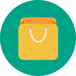 bag, basket, office, shop, shopping icon
