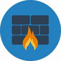 access, firewall, protection, safety, secure, security, shield icon
