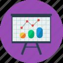 office, presentation, chart, graph, statistics