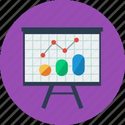 chart, graph, office, presentation, statistics icon