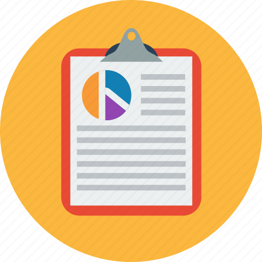 analytics, document, graph, office, report, statistics icon