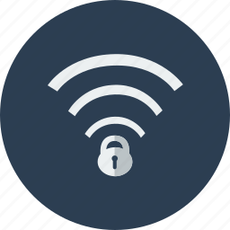 lock, protection, safe, secured, security, shield, wifi icon