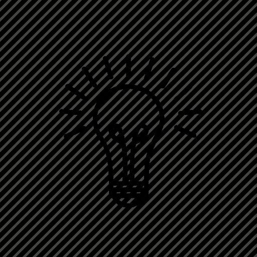 business, creative, idea, lamp, light, light bulb, smart icon