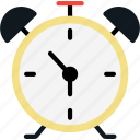 alarm, alert, clock, date, time, timepiece icon