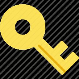 key, lock, locked, password, safety, secure, unlock icon