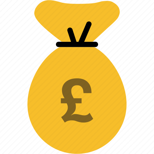 bag, bank, cash, currency, finance, money, pound icon