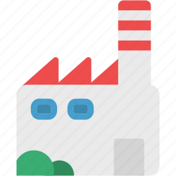 building, construction, factory, industry, office, work icon