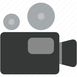 camcorder, camera, film, media, movie, player, video icon
