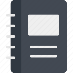 address, book, books, education, knowledge, library, study icon