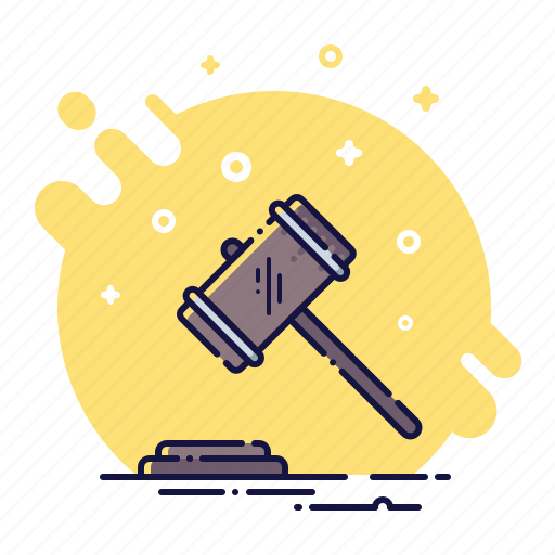 auction, business, buy, gavel, hammer, mallet, sale icon