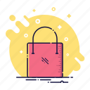bag, box, buy, fashion, sale, shop, store icon