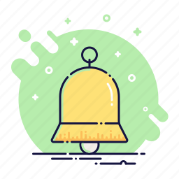 alarm, alert, bell, call, handbell, signal, sound icon