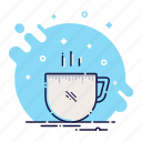 beverage, coffee, cup, drink, food, kitchen, mug icon