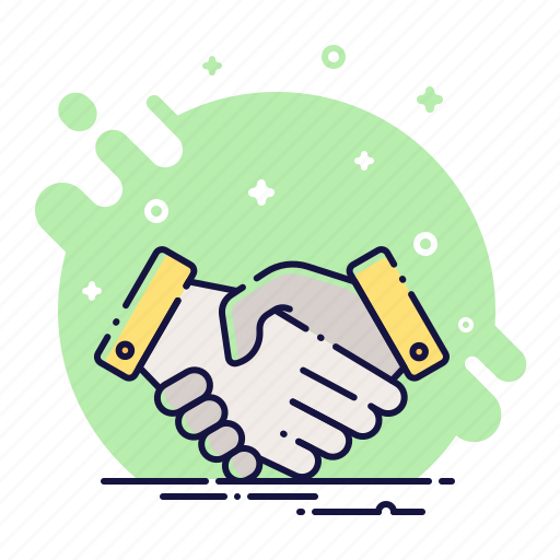 contract, cooperation, deal, finance, handshake, partner, team icon